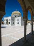 Habib Bourguiba Mausoleum. Monastir. Tunisia stock photos