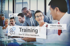 Habilidad del desarrollo del entrenamiento que aprende la educación Concep de la mejora imágenes de archivo libres de regalías