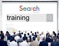 Habilidade do desenvolvimento do treinamento que aprende a educação Concep da melhoria Fotos de Stock Royalty Free