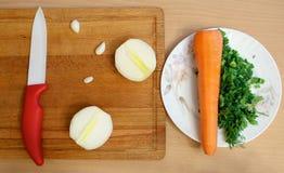Habilidades culinárias Foto de Stock Royalty Free