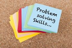 Habilidades da resolução de problemas Fotografia de Stock Royalty Free