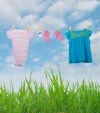 Habillement de bébé Image stock