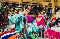 Habillement typique Ollantaytambo Images stock