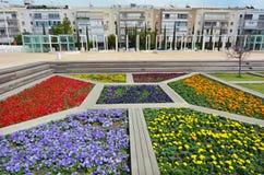 Habima广场在特拉维夫-以色列 库存照片