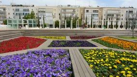 Habima Square in Tel Aviv, Israel stock video footage
