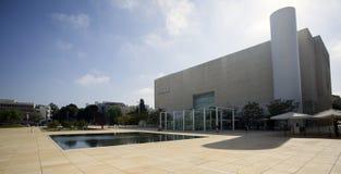 Habima Square & Theater in Tel Aviv - Israel Stock Photo