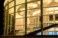 Habima Theatre. Outdoor night secne royalty free stock photos