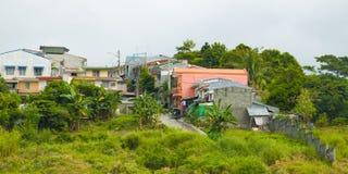 Habitações sociais nas Filipinas fotos de stock