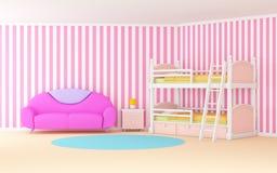 Habitación del niño suave libre illustration