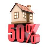 Habitación el 50% apagado Fotografía de archivo libre de regalías