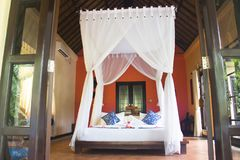 Habitación lujosa en Bali, Indonesia foto de archivo libre de regalías