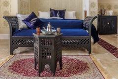 Habitación marroquí del sitio imágenes de archivo libres de regalías