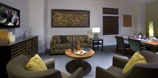 Habitación de lujo en un hotel de boutique exclusivo Foto de archivo libre de regalías