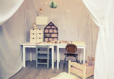 Habitación del niño Imágenes de archivo libres de regalías