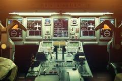 Habitacle d'avion Images stock