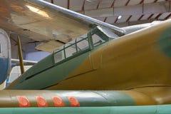 Habitacle d'avions de vintage Photographie stock libre de droits