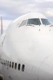 Habitacle de Boeing 747 Photo stock