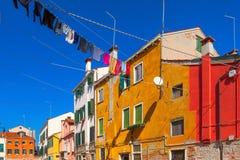 Habitant à Venise, l'Italie Photo libre de droits