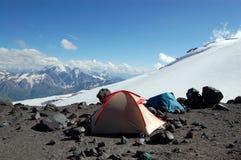 Habitantes de la montaña Imágenes de archivo libres de regalías