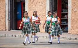 Habitantes de Valladolid, México Imagens de Stock