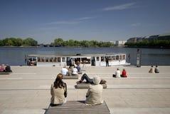habitants de Hambourg photos libres de droits