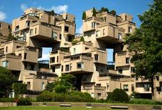 Habitat 67 à Montréal dans le Canada photos stock