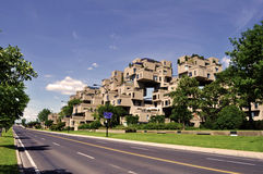 Habitat 67 - Montreal stock photos