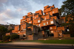 Habitat 67-Montreal Stock Photography