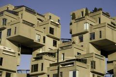 Habitat 67 van Montreal Royalty-vrije Stock Afbeeldingen