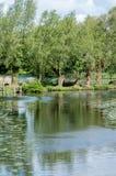 Habitat BRITÂNICO rio controlado Fotos de Stock