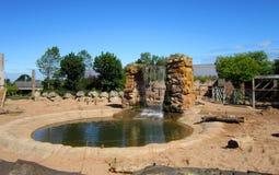Habitat d'éléphant Photo stock