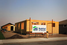 Habitat for Humanity Construction Royalty Free Stock Images