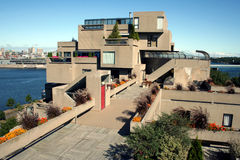 Habitat 67 in Montreal, Canada stock photography