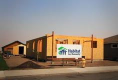 Habitat per la costruzione di umanità immagini stock libere da diritti