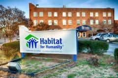 Habitat per le sedi dell'internazionale di umanità fotografia stock