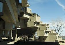 Habitat 67, Montreal. Habitat 67, an unique residential building in Montreal Stock Photo