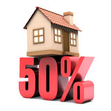 Habitation 50% Off Royalty Free Stock Photography