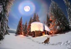 Habitation des bergers Image libre de droits