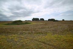 Habitats directive area in Mecklenburg-Vorpommern, Germany. The name is Kleingewaesserlandschaft bei Doemitzow.  Stock Photography