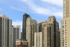 Habiter en Chicago Images stock