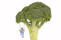 Habitudes alimentaires saines à partir d'enfance photographie stock libre de droits