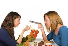 Habitudes de nourriture Photographie stock libre de droits