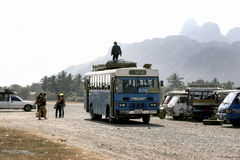 Habituellement style de vie au Laos Image libre de droits