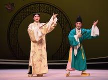 """Hable con el  del oeste de Chamber†del """"the de la ópera de la elocuencia-Kunqu foto de archivo"""