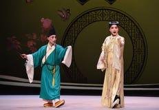 """Hable del Buda en el  del oeste de Chamber†del """"the de la ópera del camino-Kunqu fotos de archivo"""