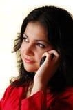 Hable el teléfono Fotografía de archivo