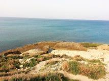 Habonim beach. A summer trip by the sea Stock Photos