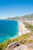 Habor of Alanya Stock Images