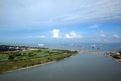 Habor de Singapore Foto de Stock Royalty Free