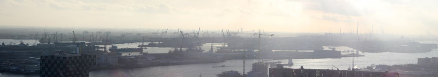 Habor di Rotterdam XXL Fotografia Stock